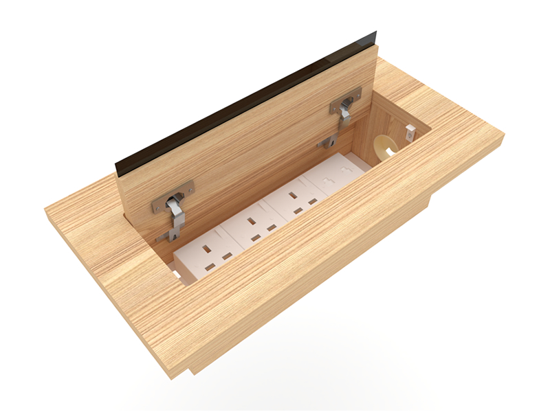 Wood Socket Box
